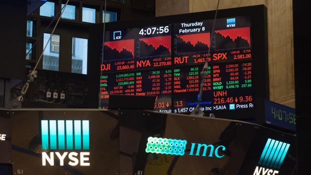 El jueves fue otro día negro para la Bolsa estadounidense