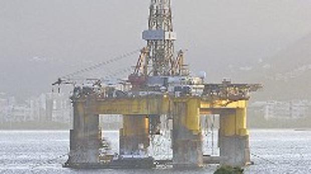 Plataforma de Repsol en el golfo de México