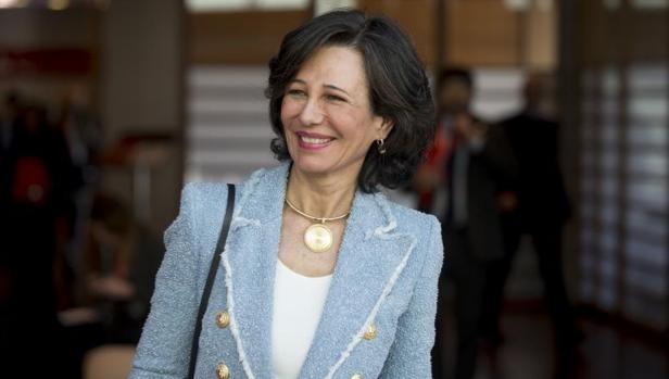 La presidenta del Banco Santander, Ana Botín