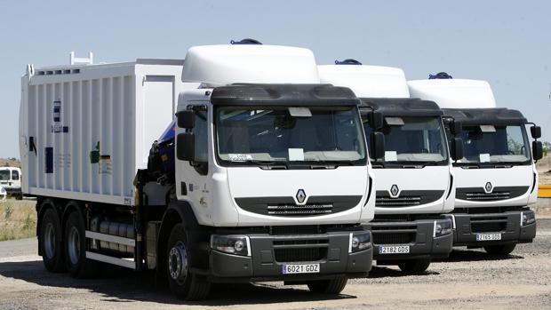 Camiones de Renault en León