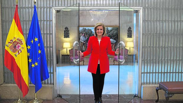 Báñez recibió a ABC en el Ministerio de Empleo