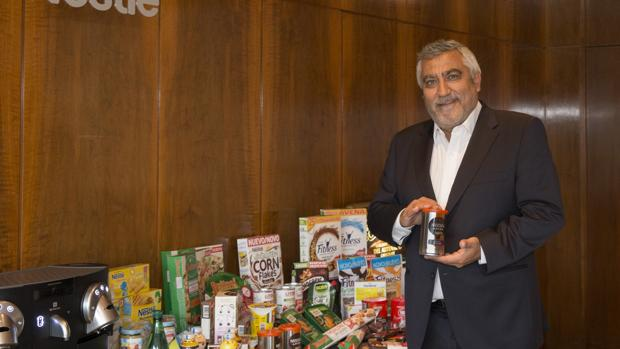 Laurent Dereux, vicepresidente y director general de Nestlé España