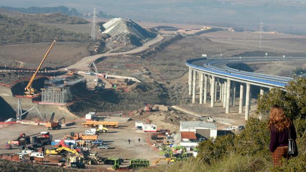 Obras del AVE de la línea Madrid-Valencia, cofinanciadas por la UE