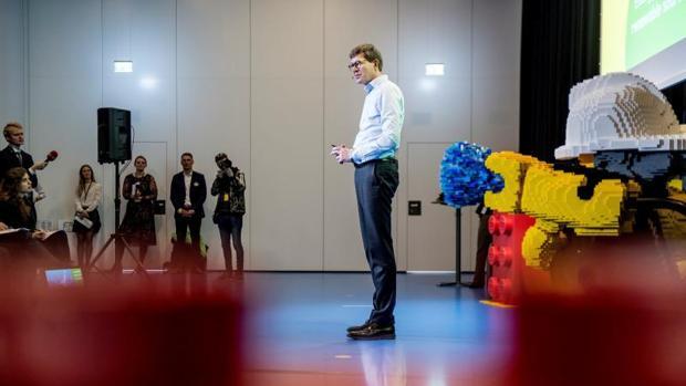 El presidente ejecutivo de la compañía de juguetes Lego Group, Niels B. Christiansen