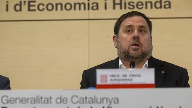 El exvicepresidente y exconsejero de Economía y Hacienda de la Generalitat, Oriol Junqueras