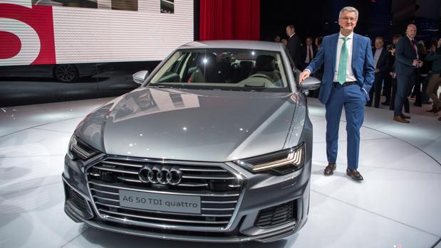 El primer ejecutivo de Audi, Rupert Stadler