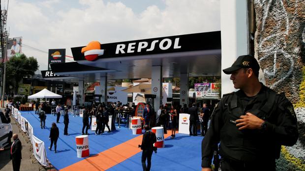La primera estación de Repsol en México