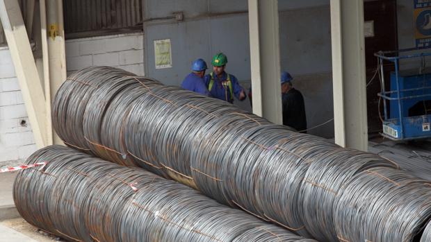 La siderurgia es el sector más afectado por los aranceles
