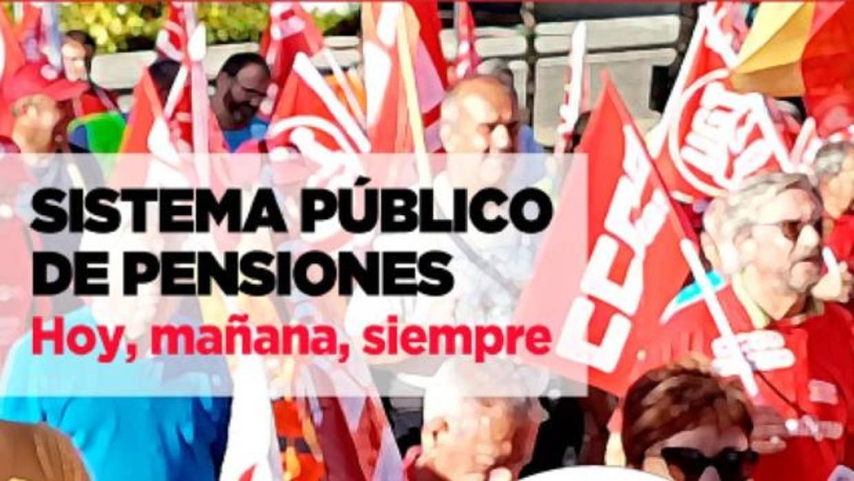 Sábado histórico en Madrid, con una manifestación de pensionistas por la mañana y otra por la tarde