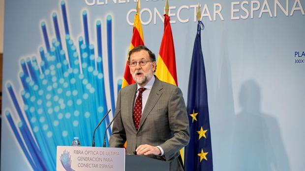 Rajoy anuncia que el déficit acabó 2017 en el 3,07% y cumplió el objetivo