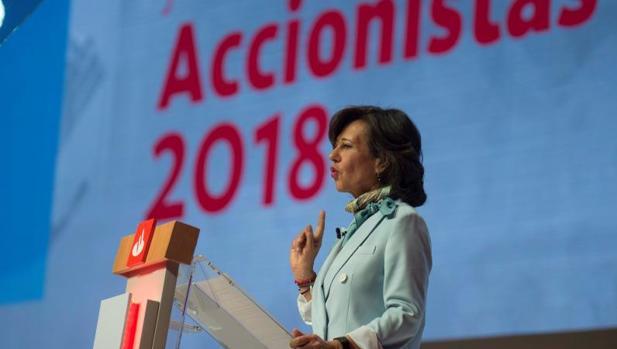Junta de accionistas del Santander