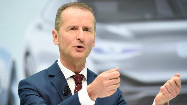 El nuevo presidente mundial del grupo automovilístico alemán Volkswagen, Herbert Diess