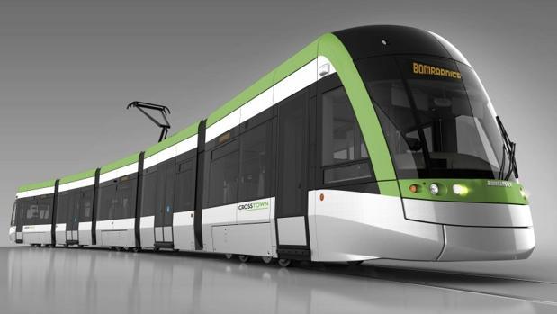 Prototipo de metro ligero