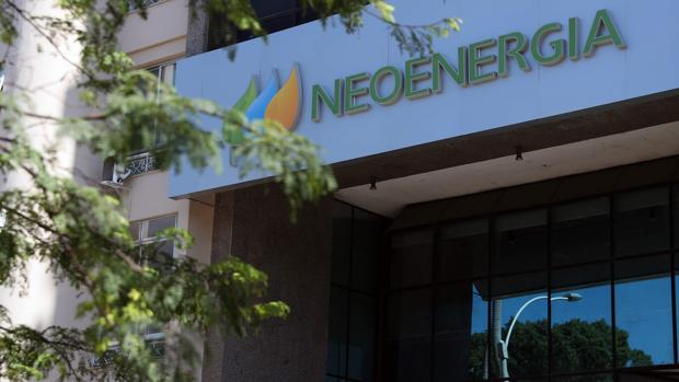 Fachada de la empresa energética Neoenergía, subsidiaria de la española Iberdrola, en Río de Janeiro