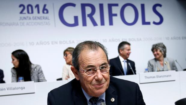 Víctor Grifols, presidente no ejecutivo de la firma y consejero dominical desde enero de 2017