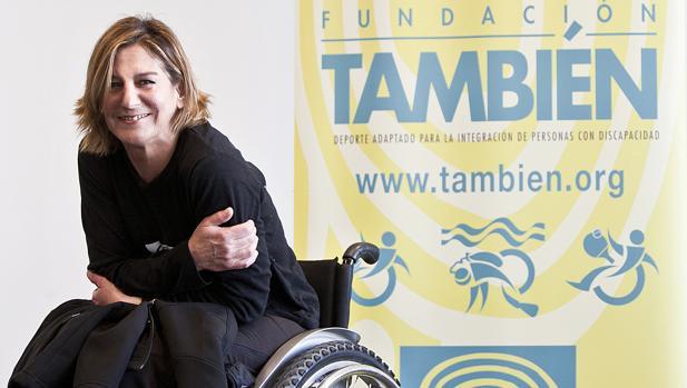 Teresa Silva creó hace casi 18 años la Fundación También para que ninguna persona con discapacidad se quedara sin disfrutar de los beneficios del deporte de manera inclusiva.