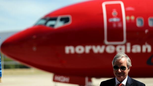 Bjorn Kjos, CEO de Norwegian Air