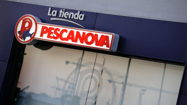 Una tienda de la «vieja Pescanova» en Vigo en junio de 2013