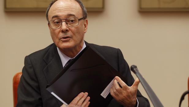 El gobernador del Banco de España, Luis María Linde