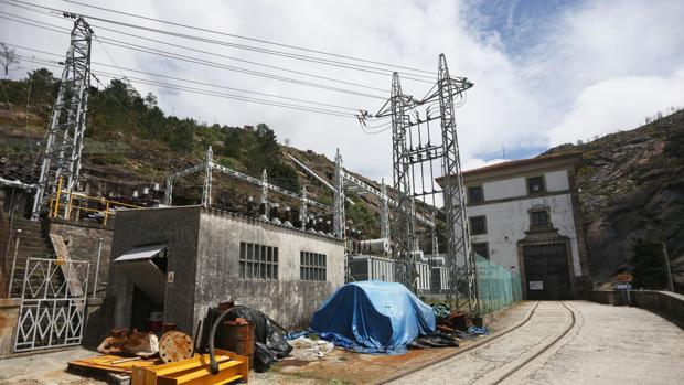 Imagen de archivo de una central eléctrica