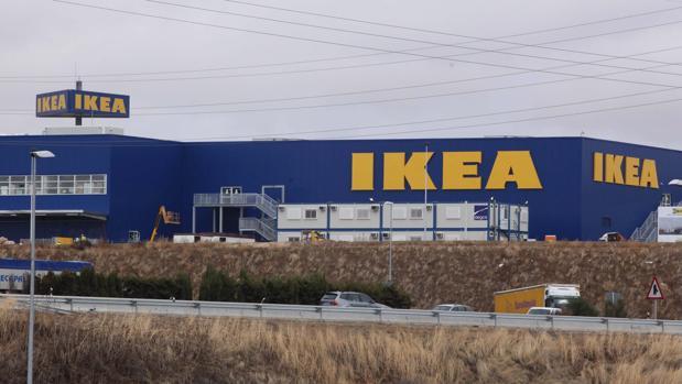 Centro comercial de Ikea en Valladolid