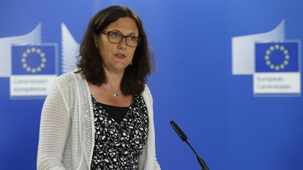 La comisaria de Comercio europea, Cecilia Malmström
