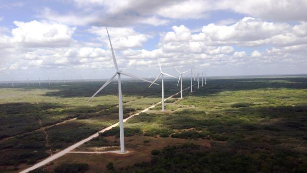 Parque eólico de Peñascal, en el estado norteamericano de Texas
