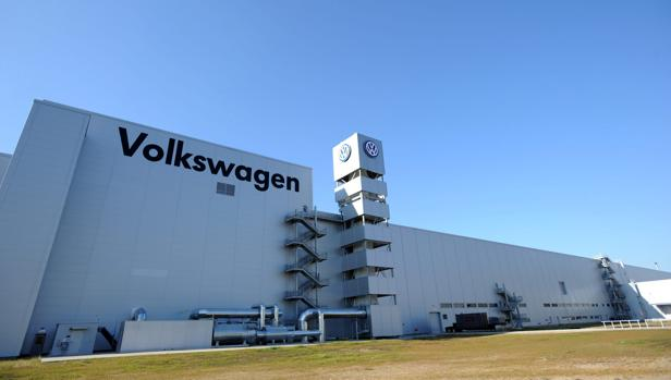 La fábrica de Vokswagen en Chattanooga (Estados Unidos).