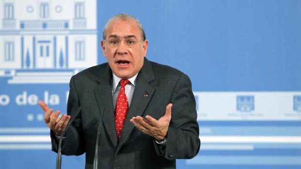 Secretario general de la OCDE Angel Gurria