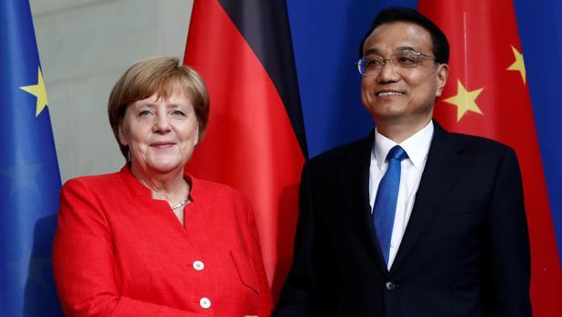 Alemania y China escenifican armonía comercial