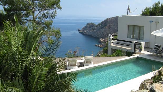 Una casa de vacaciones en Ibiza