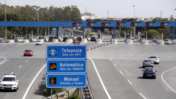 Autopista de peaje entre Sevilla y Jerez