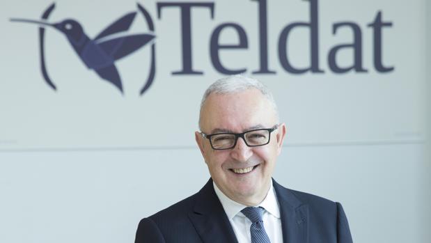 Antonio García Marcos, presidente y fundador de Teldat