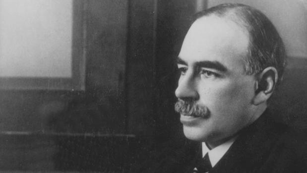 Imagen del barón Keynes en 1940
