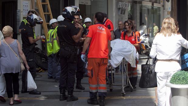 Imagen de archivo de un accidente laboral en Córdoba