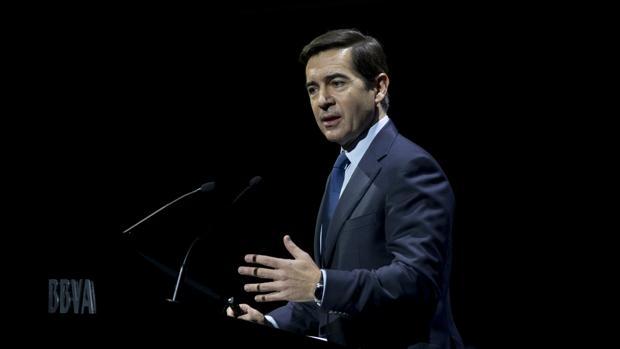 Carlos Torres, consejero delegado de BBVA, en una imagen de archivo