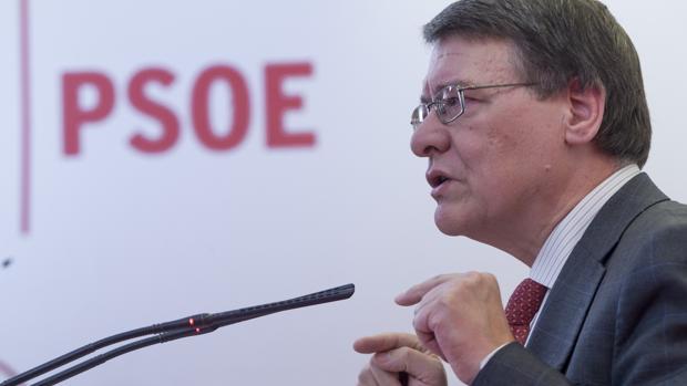 Imagen de archivo de Jordi Sevilla presentando el programa económico de Pedro Sánchez