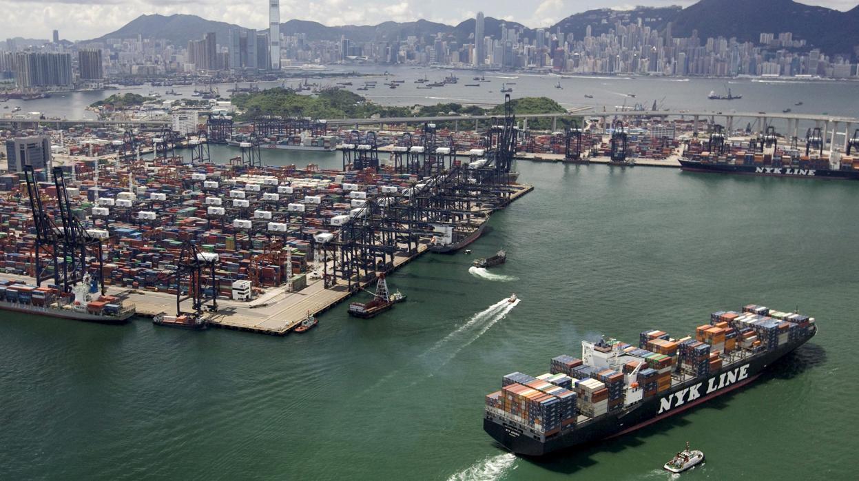 Un carguero de soja navega sin rumbo un mes víctima de la guerra comercial entre EE.UU. y China