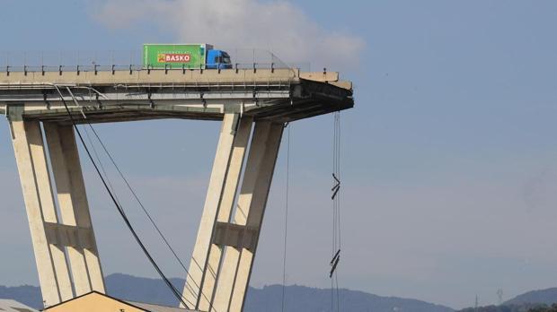Puente de Morandi, en Génova