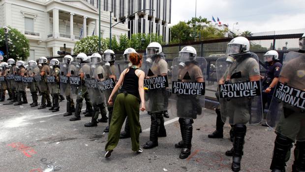 Los ajustes por el rescate provocaron tensas manifestaciones en los últimos años en Grecia