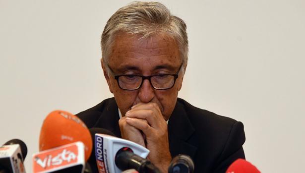 El consejero delegado de Atlantia, Giovanni Castellucci, explica las compensaciones que llevará a cabo la empresa tras la catástrofe