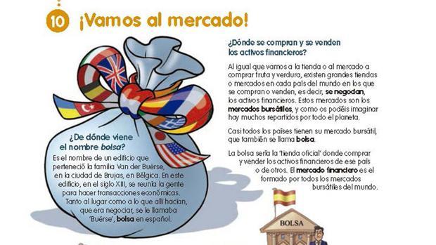 El libro de economía para niños que Podemos tilda como «escalofriante»