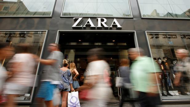 las ventas de Zara crecieron el 2,2 % (7.910 millones de euros)