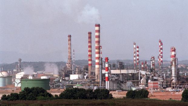 Refinería de Repsol en Terragona