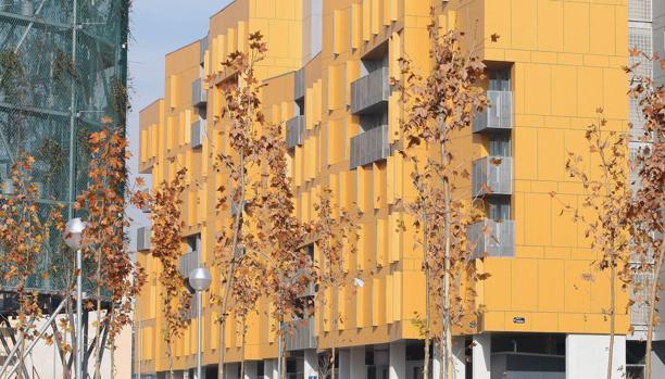 Viviendas protegidas en el Ensanche de Vallecas, Madrid