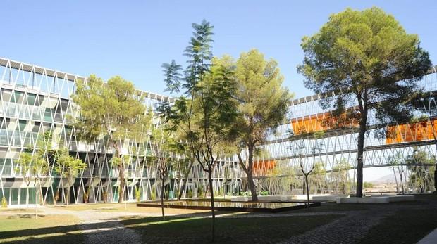 Instalaciones del Parque Científico de Murcia, que acoge diversos proyectos empresariales