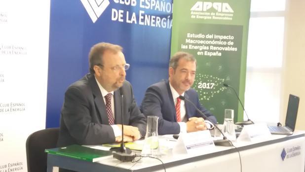 José Miguel Villarig y José María González, presidente y director general de APPA Renovables