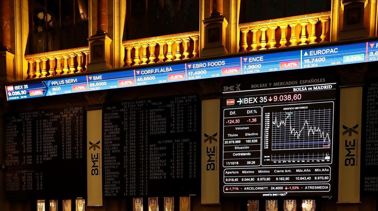 La Bolsa cae otro 1,18% empujada por el sector energético