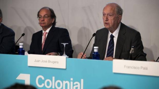 Víñolas y Brugera, en la junta de Colonial