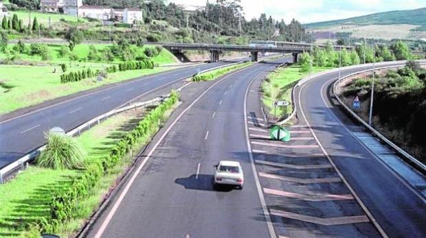Imagen de la AP-9, una de las autopistas controladas por Itínere